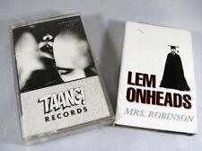 Lemonheads Mrs Robinson Lemonheads Lick  - 2 Tape lot -  Evan Dando Indie Rock
