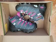 Keen Koven Mid WP Waterproof Hiking Shoes, Navy & Mauve, PSG size 8 or 12, NIB