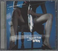 ZEN BASEBALLBAT - FOR REFUND INSERT BABY - (still sealed cd) - MOON CD 071