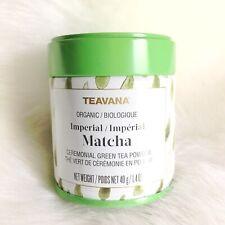 Teavana Imperial Matcha Japanese Organic Ceremonial Green Tea Powder 40g 1.4oz