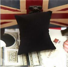 lot 5PCs Retail Black Color Watch & Bracelet Display Pillow Cushions Holder W