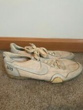Vintage Nike Track & Field Spikes 1980's Running Nylon Size 9