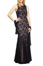 Alex Evenings Sequin Lace Mermaid Gown (size 12)