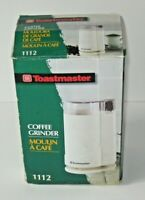 TOASTMASTER Coffee Bean Maker Grinder Mill Moulin A Cafe Electric Kitchen
