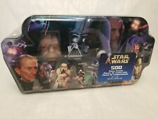 Star Wars 500 Piece Villains Jigsaw Puzzle with Collectible Tin NEW SEALED 2002