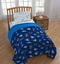 TOY STORY GANG DISNEY KIDS BOYS COMFORTER SET 3 PCS TWIN SIZE