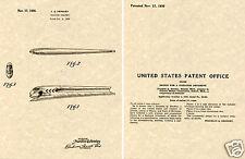 1937 PONTIAC 6 Cylinder HOOD ORNAMENT PATENT Art Print READY TO FRAME!!! GM CAP