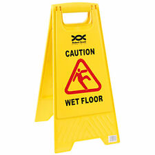 Professional Wet Floor Warning Caution Hazard Safety Sign Cleaning Slippery