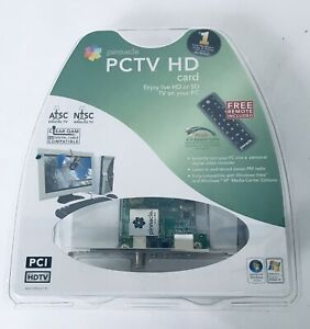 Pinnacle PCTV HD Card HDTV w/ Remote AV Adapter FM Antenna DVR PVR Video Editing