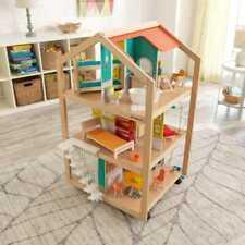Kidkraft So Stylish Mansion Dollhouse with EZ Kraft Assembly™ | Wooden Dollhouse