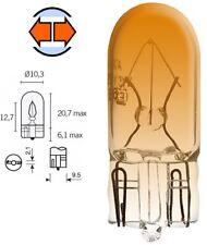 AMPOULE 12V 5W T10 W2.1x9.5 ORANGE CLIGNOTANT VEHICULE AUTO LAMPE ECLAIRAGE