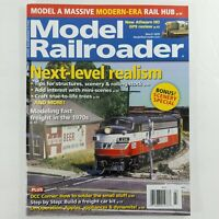 Model Railroader March 2020 Magazine Kalmbach Publishing Model Trains Hobby