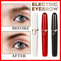 Eyebrow Shaper Trimmer Makeup Painless Portable Eye Brow Facial Hair Mini Shaver