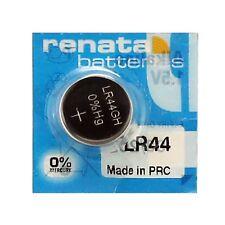 LR44 - AG13 RENATA Alkaline Button Cell Watch Battery 2 PACK