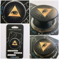 PopSockets Single Phone Grip PopSocket Universal Phone Holder 101345 illuminati