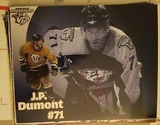 J.P. Dumont Nashville Predators Signed 8x10 Photo Guaranteed Authentic