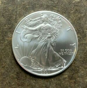 2021 American Silver Eagle $1 Coin - 1 Troy Oz 999 Silver - No Reserve