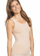 Jockey Slimmers Micro Seamfree Tank Top Medium Light Beige