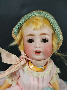 """10"""" Antique German Kestner 260 25 Doll Bisque Socket Head JDK Red Stamp Body"""