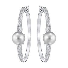 Snap Closure Hoop Beauty Round Costume Earrings