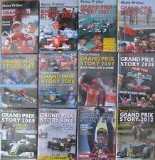 * GRAND PRIX STORY 2002 -  2012 Heinz Prüller 11 Stück versandkostenfrei D + AT*