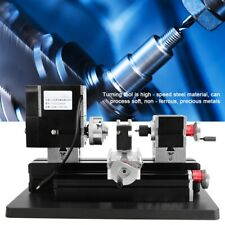 60W High Power Metal Lathe TZ20002MGP Woodworking Machine 100-240V 12,000 RPM