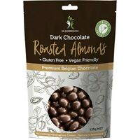 Dr Superfoods Roasted Almonds Dark Chocolate 125g Chocolate & Confectionary