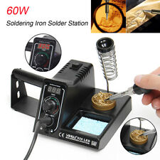 60W Desolder Welding Tools Soldering Iron Rework Station Variable Temperature LE