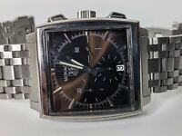 Tag Heuer Monaco Automatic Chronograph Watch CW2114 39mm Brown