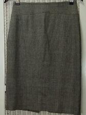 """JOSEPH Pencil Skirt EU36 / XS-S 26"""" Waist Wool Houndstooth Check Plaid Office"""