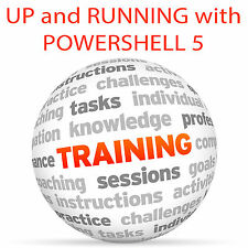 Up and Running with POWERSHELL 5 - Video Training Tutorial DVD