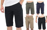Mens Chino Shorts Stretch Shorts 4 Pocket Summer Casual Slim Fit Golf Shorts