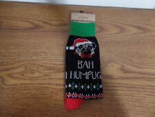 Legale Men's Socks ~ Bah Humpug ~ Men's Size 8-12 ~ NEW