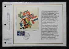 B) Document Philatélique CEF 1979 * n°2050 élection européenne