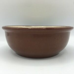"""Vintage Weller Pottery Red Ware Mixing Bowl 6.25"""""""