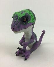 Fingerlings Untamed Razor Raptor Purple Dinosaur Interactive Toy WowWee