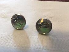 Amtrak uniform buttons set of four rail railroad waterbury silver color