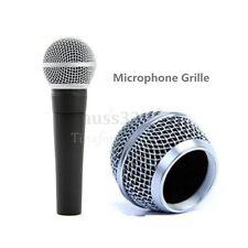 Metall ersatz ball kopf mesh mikrofon gitter für sicher silber
