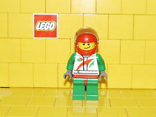 Lego City Race Car Driver type 1 Minifigure NEW