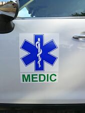 Battenberg Magnétique Star of Life medic first Aimant Ambulance ambulancier Paquet