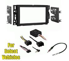Double Din Car Stereo Radio Install Dash Mount Kit  Combo w/ or w/o Bose Amp