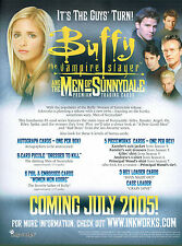 BUFFY MEN OF SUNNYDALE PROMOTIONAL SELL SHEET