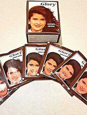 3 x BROWN HEENA-GLORY HENNA HAIR DYE 60g/S (6x3=18 Sachets) Colour Brown Heena