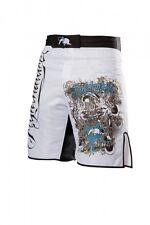 Fightnature Shorts weiß. MMA Hose. Muay Thai. Kickboxen. Boxen. BJJ usw.. S-XL