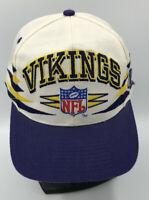 Vintage Minnesota Vikings Hat Pro Line Logo Diamond Cut NFL Football