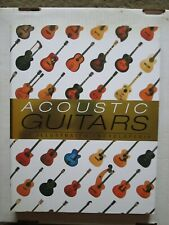 """Acoustic Guitars-The Illustrated Encyclopedia"" large softcover book"