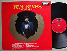 Tom Jones 13 Smash Hits LP 12` Vinyl DECCA SLK 16 531-P