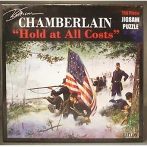"""Dale Gallon Chamberlain Hold at All Cost Jigsaw Puzzle 750 Piece 18"""" x 24"""" NEW"""