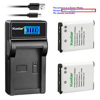 Kastar LCD Charger Battery for Nikon EN-EL19 Nikon Coolpix S2750 Coolpix S2800