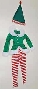 Childs One Piece Elf Costume with Hat by Art Stone - Size - Extra Small Child